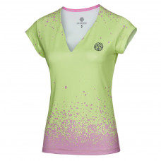 Bidi Badu Bella Tech V-Neck Tee - light green/light pink (HW17)