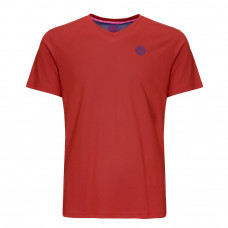 Bidi Badu Evin tech round neck tee - red/blue